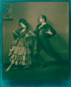 Ted Shawn in Malaguena with Martha Graham.