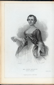 Mrs. George Washington (Martha Dandridge)