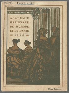 Academie Nationale de Musique et de Danse.