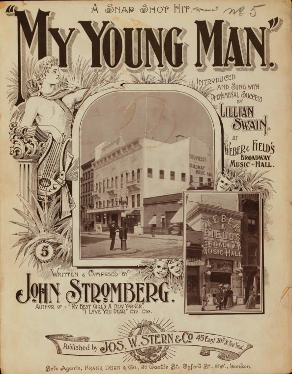 My young man / words and music by John Stromberg.