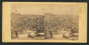 Panoramic view of of San Francisco, No. 3. Taken from the corner of Sacramento and Taylor Sts.