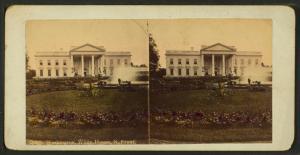 White House, North Front, Washington.