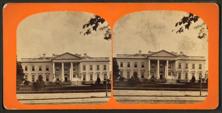 White House, North Front.