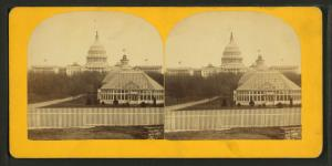 West Front of U.S. Capitol and Botanic Gardens.