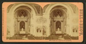Interior of St' Aloysius Church.