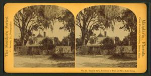 General View, Residence of Prof. & Mrs. H. B. Stowe.