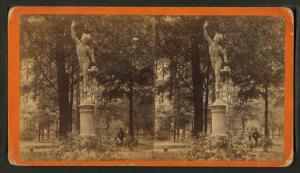[Statue of Mercury in the Park.]