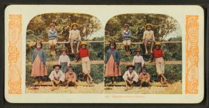 Hawaiian school children.