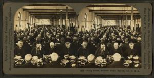 Dining room, Soldiers' Home, Marion, Ind., U.S.A.