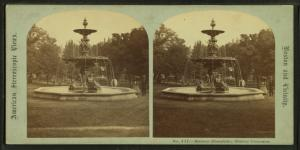 Brewer fountain, Boston Common.