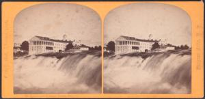 [Rapids and Cataract House, Niagara.]