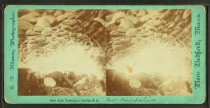 Snow Arch, Tuckerman's Ravine, N.H.