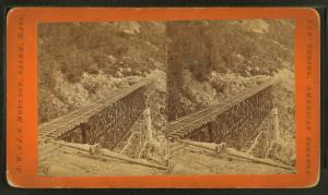 Frankenstein Trestle work. (B) P. & O.R.R.