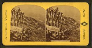 Rail Road on Mt. Washington, N.H.