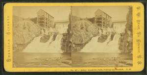 Below Good Rich Falls, looking up, Bartlett, N.H.