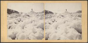 [Ice mountain (?), Niagara Falls.]