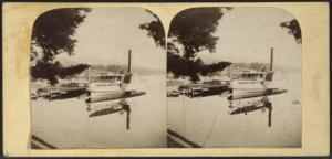Steamer Minnehaha [Minne-ha-ha], Lake George.