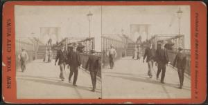Promenade, Brooklyn Bridge, N.Y.