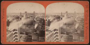 Panoramic View, South from W.U. Telegraph B'd'g.