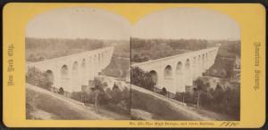The High Bridge, End View, Harlem.
