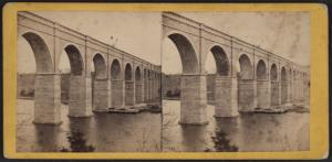 View of High Bridge, from the New York Side.