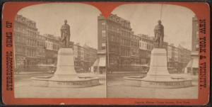 Lincoln Statue, Union Square, New York.