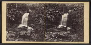 Caldena Falls, vicinity of the Delaware Water Gap, Pennsylvania.