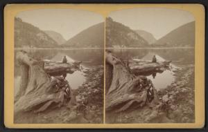 Water Gap, mirror view.