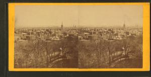 Panorama of Philadelphia. South-east from State House.