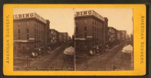 """Press"" building, Seventh & Chestnut Sts., Philadelphia."