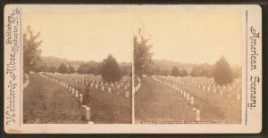 National Military Cemetery, Graves, Nashville, Tenn.