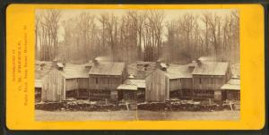 [Maple sugar works of S. & E. Morse, Montpelier, Vt.]