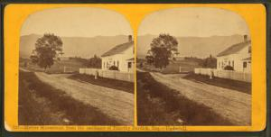 Mount Mansfield, from the residence of Timothy Burdick, Esq., Underhill.