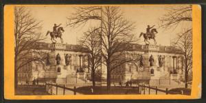[Washington monument and State Capitol.]