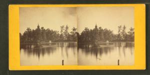 [View of the lake.]