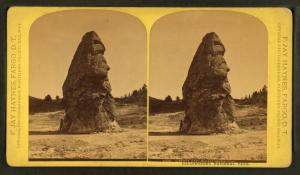 Liberty Cap, extinct geyser cone.