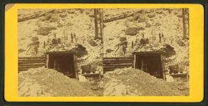 [View of an opening to a mine.]