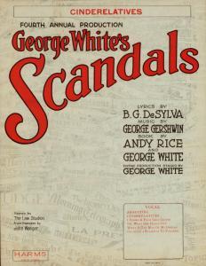 Cinderelatives / words by B. G. De Sylva ; music by George Gershwin.