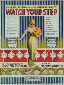 They always follow me around / words and music by Irving Berlin.