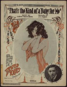 That's the kind of a baby for me / words by Alfred C. Harriman ; music by J. C. Egan.