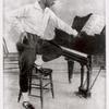 Vaslav Nijinsky in practice clothes.
