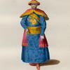 The ordinary habit of the emperor of China in [sic]. L'Empereur de la Chine dans sa parure ordinaire.