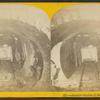 Interior section of the Chicago Lake tunnel.