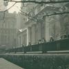Dushan. Oblique view of the Fifth Avenue facade from the north corner of the balustrade, ca. 1940s.