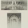 Fountain at south end of mall (detail elevation & detail plan).