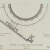 Section and soffit plan of rotunda.