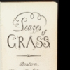 Leaves of grass title page
