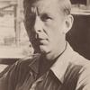 Wystan Hugh  Auden (seated close-up)
