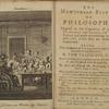 The Newtonian system of philosophy frontispiece & title page