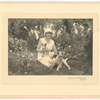 Susan Glaspell with two dogs